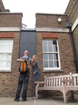 SX15935 Simon and Marieke at Bradley Meridian at Old Greenwich Royal Observatory, London.jpg